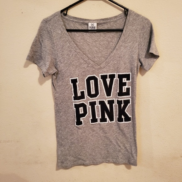 PINK Victoria's Secret Tops - Pink Victoria's Secret V-neck Top